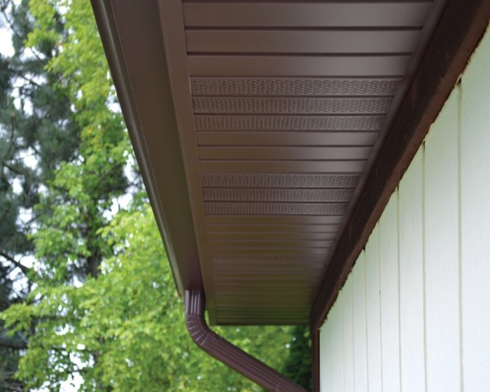 My Soffit Vents are Clogged with Paint